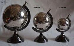 Aluminum Metal World Globe, For Home Decor