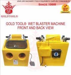Gold Tool Jewellery Wet Sand Blasting