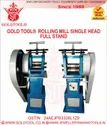 Gold Tool Single Head With Stand Motor Rolling Mill Machine