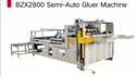 Semi Automatic Gluer Machine