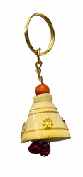 Wooden Ghanti Key Chain & Wooden Key Ring