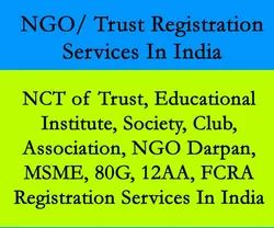 Educational Trust Registration Services In India