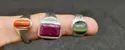 Gems Silver Ring