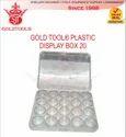 Gold Tool Aluminium Display Box