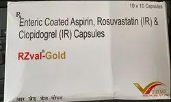 Enteric Coated Aspirin, Rosuvastatin, Clopidogrel Capsules
