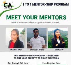 15 Mins 1 to 1 Mentoring Program, in Pan India