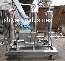 Stainless Steel Cartridge Filter Housing