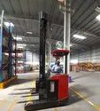 Battery Operated Forklift Reach Truck Rental services