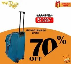 Blue Aristocrat Luggage Bags, For Travelling