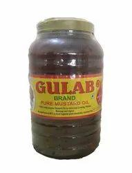 Kachi Ghani Pure Mustard Oil (1L, 2L, 5L, 15 L)