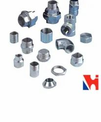Duplex Steel S31803 / S32205 Threaded Forged Fittings