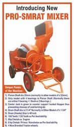 Hydraulic Hopper Heavy Duty Gujarat Model. Cement Concrete Mixer