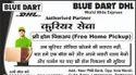Blue Dart Dhl Free Home Pickup Service