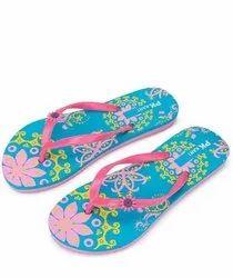 Rubber Ladies Fancy Slippers