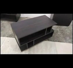 Engineering Wood Black Cafe Table Or Centre Table