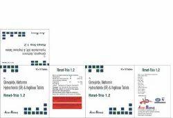 Glimepiride Metformin Hydrochloride (SR) & Voglibose Tablets