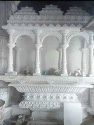 White Marble Pooja Ghar