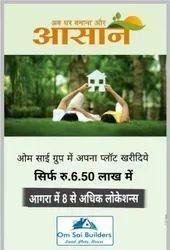 Om Laxmi Garden Plots on Gawalior road Rohta Agra
