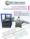 Automatic UV Screen Printing Machine For Rulers