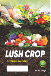 Lush Crop, For Soil, Coverage Area: <1000 Square Feet