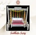 Wooden Modern Wedding Sankheda Swing, 2 Seater, Size: Means Above Product