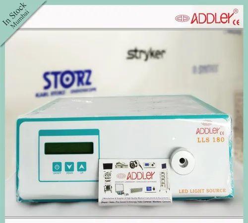 Addler Cold Digital LED Medical Surgical Light Source With Fiber Optic 180w