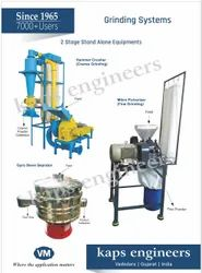 Spices Powdering System