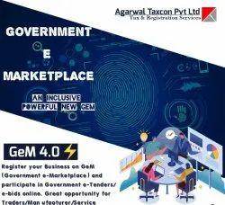 3 - 4 Days Online GEM Registration, Pan India