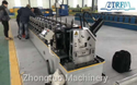 Straight Cut Metal Door Frame Making Machine