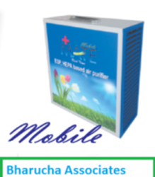 Mate Mobile Air Purifiers (Mobile- 200 Sq Ft)