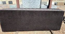 Red Polished Asian Top Granite Slab, For Countertops, Thickness: 15-20 Mm