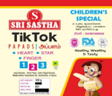 TIKTOK BRAND PAPAD Children Special Papad Appalam