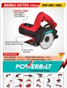 Powerbilt Pbt-cm5-1800 Marble Cutter, For Construction, Cutting Disc Size: 5 Inch