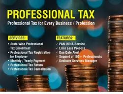 Online Professional Tax Registration, In Pan India, New Certification