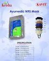Reusable Keisha 5 Layer Aryuvedic Melt Blown N95 Face Mask