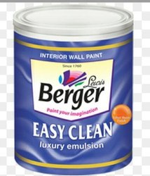Berger High Gloss Easy Clean Luxury Emulsion Paint, Packaging Type: Can
