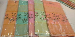 Casual Wear Cotton Embroidery Sarees