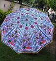 Embroidered Garden Umbrella