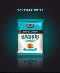 Mudih Nachos Tortilla Chips, Packaging Size: 200 Gram