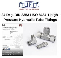 Tufit Adjustable Lock Nut Run Tee Coupling