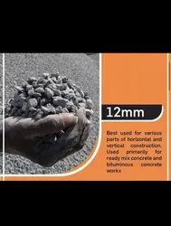White 12mm Construction Aggregate