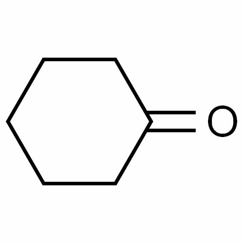 Cyclohexanone, C6H10O, CAS No.108-94-1