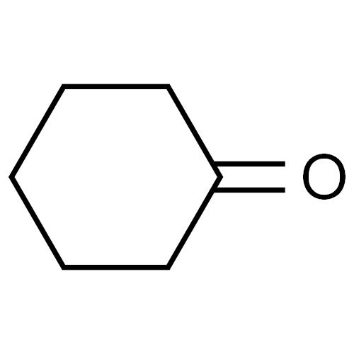 Cyclohexanone, C6H10O, CAS No.108-94-1