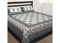 Rajastani Print Double Bedsheet