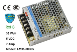 Mornsun 24VDC 1.5A 35W Power Supply
