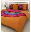Cotton Round Design Bedsheet