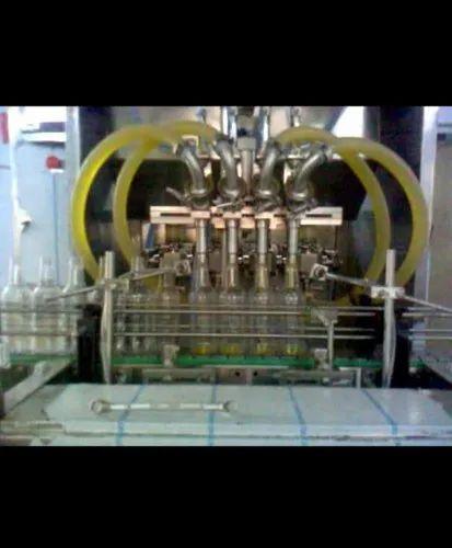 Four Head Viscous Filling Machine