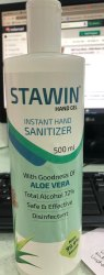 Stawin Hand Sanitizer (Instant Hand Sanitizer) 500 Ml