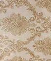 皇家图案PVC白色和金色壁纸珠宝类型,为家庭,尺寸:21英寸* 33Feet
