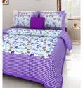 Machine Wash Cotton Double Bedsheet